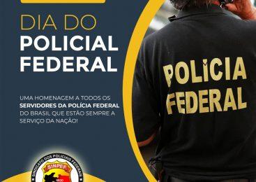 Parabéns Policial Federal