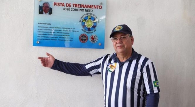 José Corcino, Ex-Presidente da FPBPT é homenageado na PB